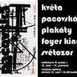 Květa Pacovská zahájí výstavu svých plakátů ve Světozoru