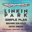 Aerodrome Festival bude opět nabitý hvězdami;  Vedle Linkin Park přiveze také Simple Plan, Machine Gun Kellyho, Enter Shikari nebo Royal Republic