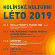 Kolínské kulturní léto 2019