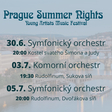 Prague Summer Nights - Young artists music festival - Symfonický orchestr 30.6.