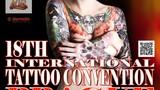 18th International Tattoo Convention Prague na Výstavišti v Holešovicích