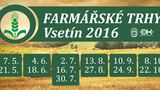 Sezóna farmářských trhů ve Vsetíně