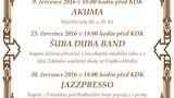 Promenádní koncert - JAZZPRESSO