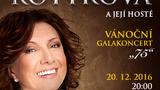 Marie Rottrová se vánočním koncertem poprvé představí v O2 areně