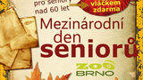 Mezinárodní den seniorů v Zoo Brno