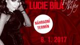 Dlouho očekávané koncerty Lucie Bílé Fifty-Fifty se uskuteční v lednu 2017
