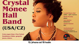 Jazzový koncert Crystal Monee Hall Band