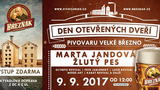 Den otevřených dveří pivovaru Velké Březno 2017