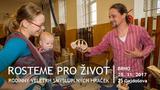 Rodinný veletrh smysluplných hraček v Brně - Rosteme pro život
