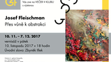 Výstava PŘES VŮNĚ K ABSTRAKCI Josef Fleischman