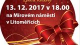 Česko zpívá koledy na Mírovém náměstí i Litoměřicích