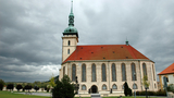 Koncert v kostele Nanebevzetí Panny Marie v Mostě, který pořádá pan Drahoslav Rieger