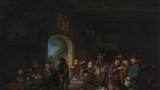 Adriaen van Ostade - Tanec ve stodole - Šternberský palác