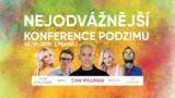 Nejodvážnější konference podzimu v Divadle Bez zábradlí!