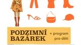 Podzimní charitativní bazar v KC Novodvorská