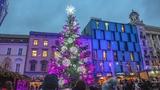 Rozsvícení vánočního stromu v Brně