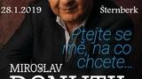 "Miroslav Donutil - ,,Ptejte se mě, na co chcete..."""