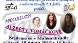 KPLO - beseda s Alžbětou Vomáčkovou - Malé divadlo