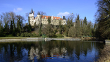 Zámecká šermírna na zámku ve Žlebech