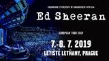 Světová megastar Ed Sheeran se vrací do Prahy! - Výstaviště PVA EXPO Letňany