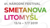 61. ročník Národního festivalu Smetanova Litomyšl