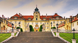 Šermířská vystoupení na dvoře zámku Valtice