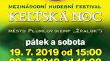 KELTSKÁ NOC 2019/MEZINÁRODNÍ HUDEBNÍ FESTIVAL/