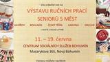 Výstava ručních prací seniorů z pěti měst se letos stěhuje do Bohumína