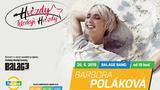 Koncert Báry Polákové ve Žlutých lázních!
