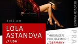 LOLA ASTANOVA/Thüringen Philharmonie (Germany)/Conductor Arkady Beryn