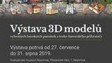 Výstava 3D papírových modelů svatojánských památek v ČR a v Německu
