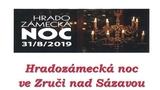 Hradozámecká noc ve Zruči nad Sázavou
