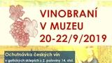 Vinobraní v mělnickém muzeu