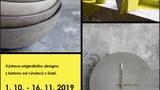 Výstava betonového designu GURĒ 1. 10. - 16. 11. 2019