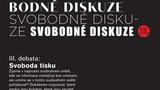 """SVOBODNÉ DISKUZE - SVOBODA TISKU - Divadlo """"12"""""""