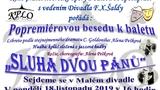 KPLO - beseda k Sluhovi dvou pánů - Malé divadlo
