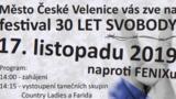 Festival 30 LET SVOBODY - České Velenice