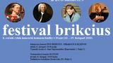 FESTIVAL BRIKCIUS - 8. ročník cyklu koncertů komorní hudby v Praze (13. - 15. listopad 2019)