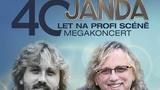 Dalibor Janda – megakoncert ´40. let na scéně´