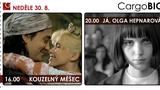 CargoBIO - kino na lodi 30.8.: Kouzelný měšec / Já, Olga Hepnarová