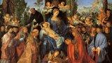 Evropské umění od antiky do závěru baroka - místo kde můžete spatřit slavnou Růžencovou slavnost Albrechta Dürera
