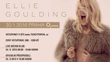 Koncert Ellie Goulding v O2 arena Praha