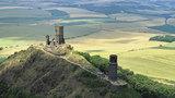 Zřícenina gotického hradu Hazmburk