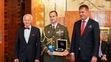 Generál KAREL ŘEHKA je laureátem Ceny Arnošta Lustiga za rok 2018