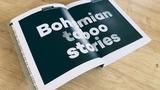 Kniha Bohemian Taboo Stories, s unikátní cenzorskou funkcí přebalu, právě vychází