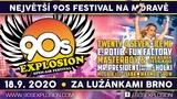 90s Explosion Brno 2020: největší 90s festival ve střední Evropě