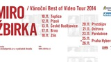 """The Best Of"" podzim Mira Žbirky -  Vánoční Best of Video Tour a 2-DVD The Best of Video."