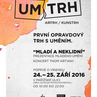 UMTrh: První pražské venkovní tržiště s uměním