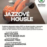 JAZZOVÉ HOUSLE | ANNA MLINARIKOVÁ & FRIENDS