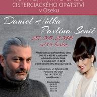 Koncert Daniela Hůlky a Pavlíny Senič